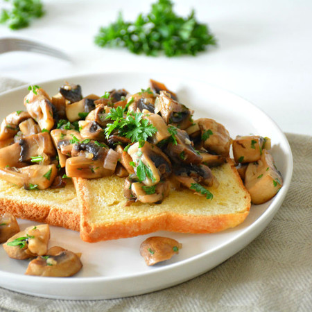 Toast champignons