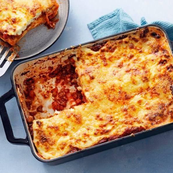 Huisgemaakte lasagna