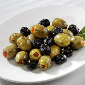 Portie olijven