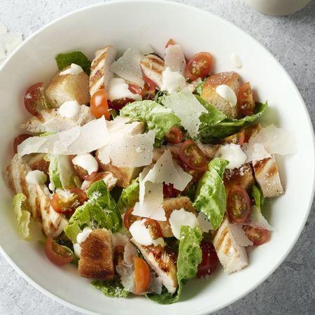 Ceaser salade (met kip)